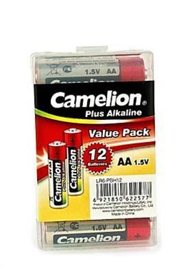 12 Camelion AA Alkaline Plus Batterien LED-Kerzen