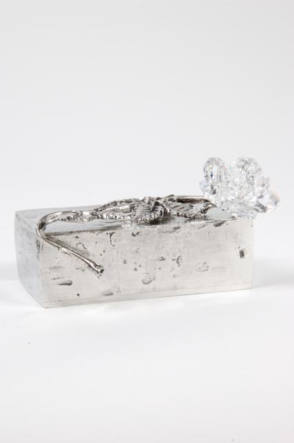 Aschefigur Everlasting Love Rechteckig Silber (0,055 Liter) z