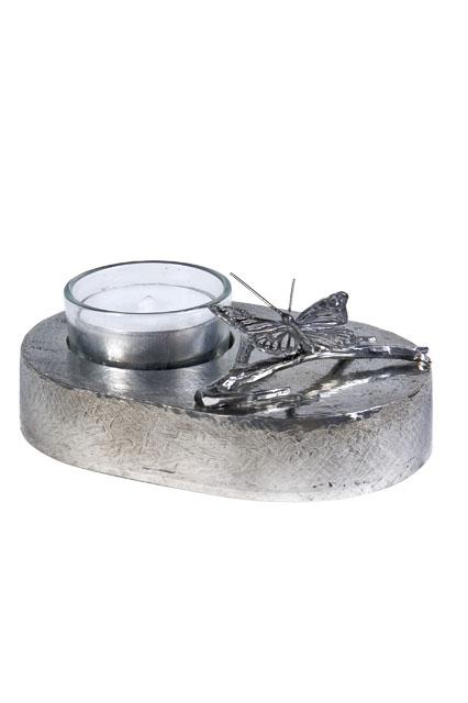 Aschefigur Ein Schmetterling Silber (0,08 Liter) z