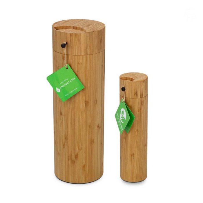 Große Bambus Aschestreuschacht Eco Urne (3,0 Liter) Bio Urnen