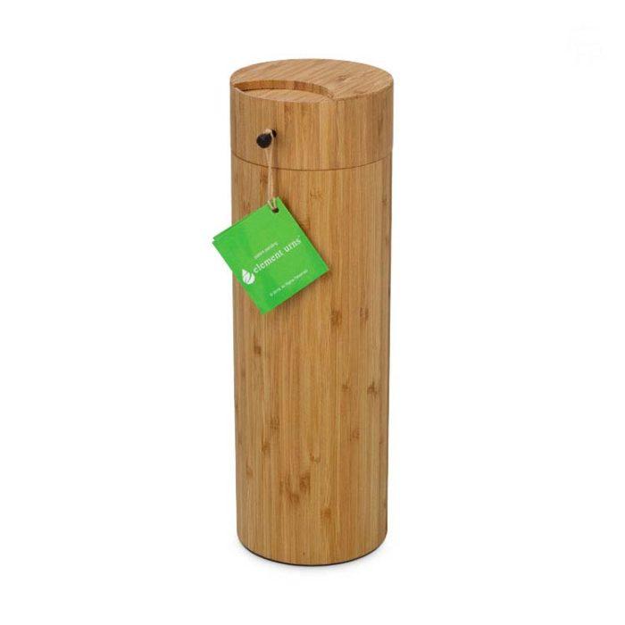 Große Bambus Aschestreuschacht Eco Tierurne (3,0 Liter) Tierurnen Bio Eco