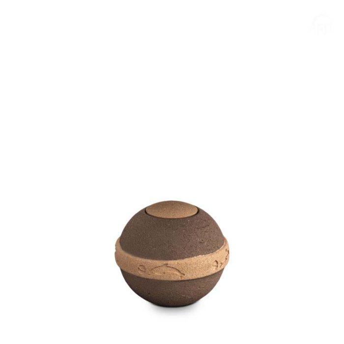 Kleine Biologische Urne Geos Life Spirit (0,7 Liter) Bio Urnen
