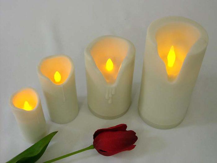 Mittelgroße Weiche Kerze LED-Kerzen LED-Kerzen