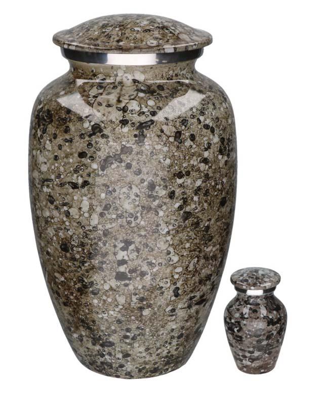 Eleganz Urnen Vorteilset Beflecktes Marmor-Look (3,6 Liter) Günstige Urnen