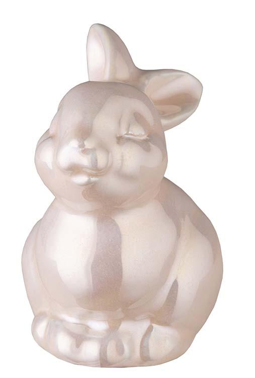 Kaninchen Urne Zartrosa (0,15 Liter) Kaninchenurnen
