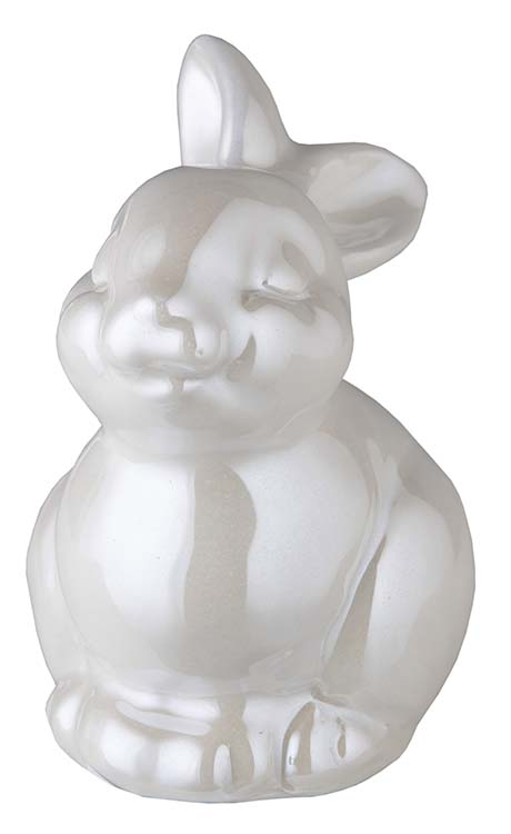 Kaninchen Urne Weiß (0,15 Liter) Kaninchenurnen