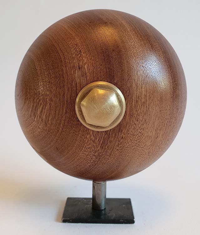 Mini Design Urne MDU5 auf Sockel (0,05 Liter) Holz Design Urnen
