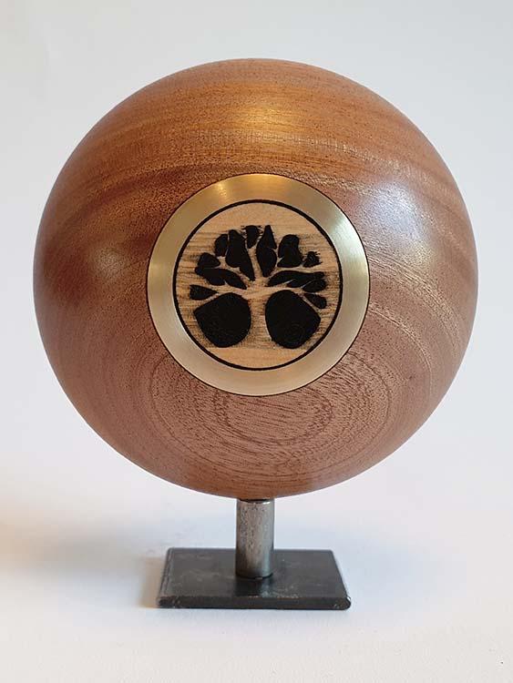 Mini Design Urne MDU7 auf Sockel (0,05 Liter) Holz Design Urnen