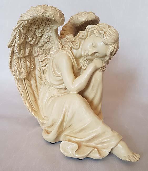Engel AscheStatue Friedlich Schlafend (1,7 Liter) Engel Urnen