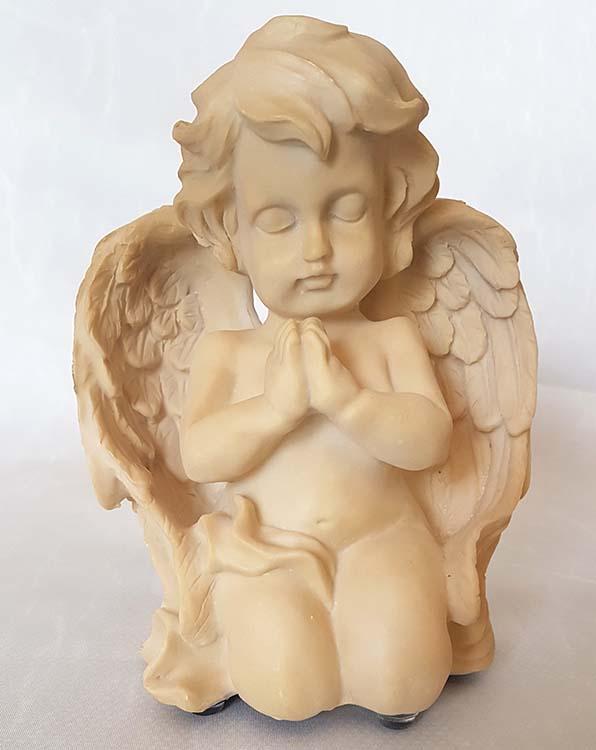 Engel Urne Betender Cherubim, Cremefarbig (0,3 Liter) Engel Urnen