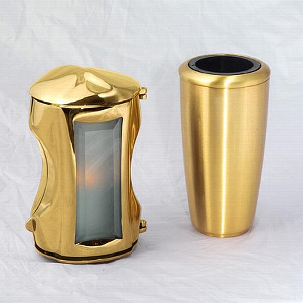 Günstiges Silber Messing Grabset Gold Grabset luxus