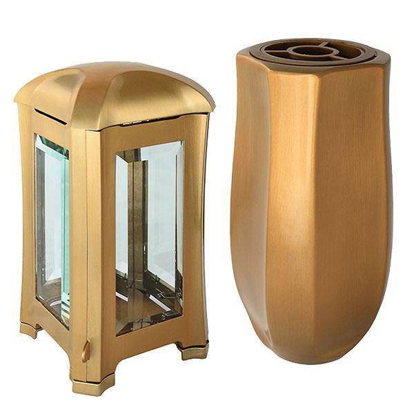 Vorteiliges Design Grabset Bronze Grabset luxus