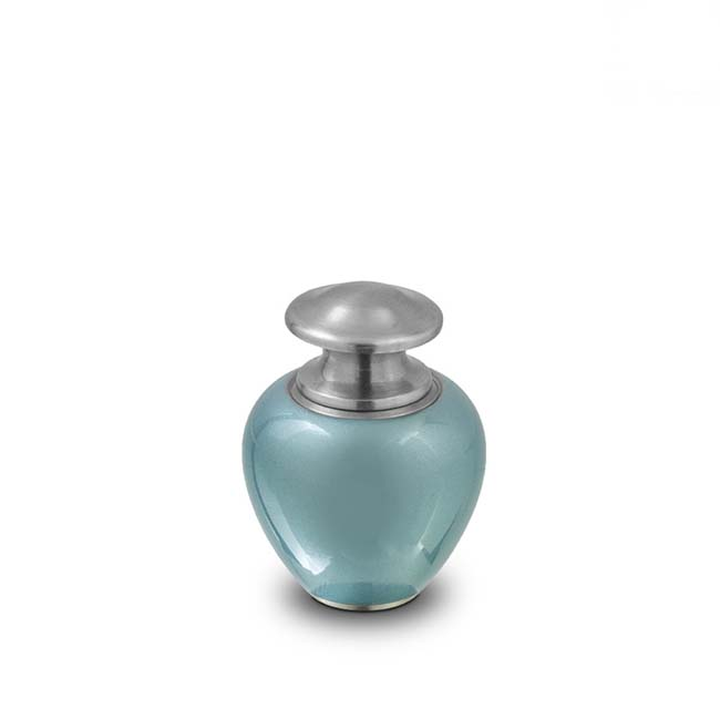 Günstige Mini Satori Ozean Blau Tierurne (0,1 Liter) Tierurnen Budget