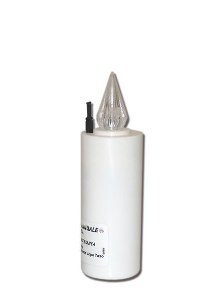 Weiße LED Jahreskerze LED-Kerzen