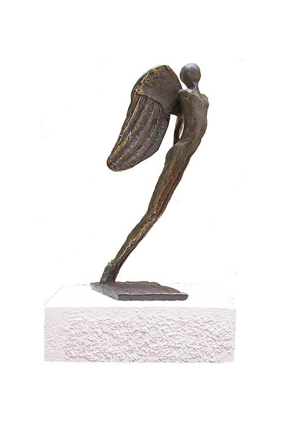 Asche Figur Schutzengel (0,25 Liter) Bronze Urnen