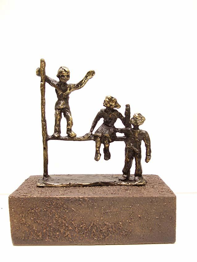 Asche Figur Freude in unseren Herzen Für Immer (0,25 Liter) Bronze Urnen