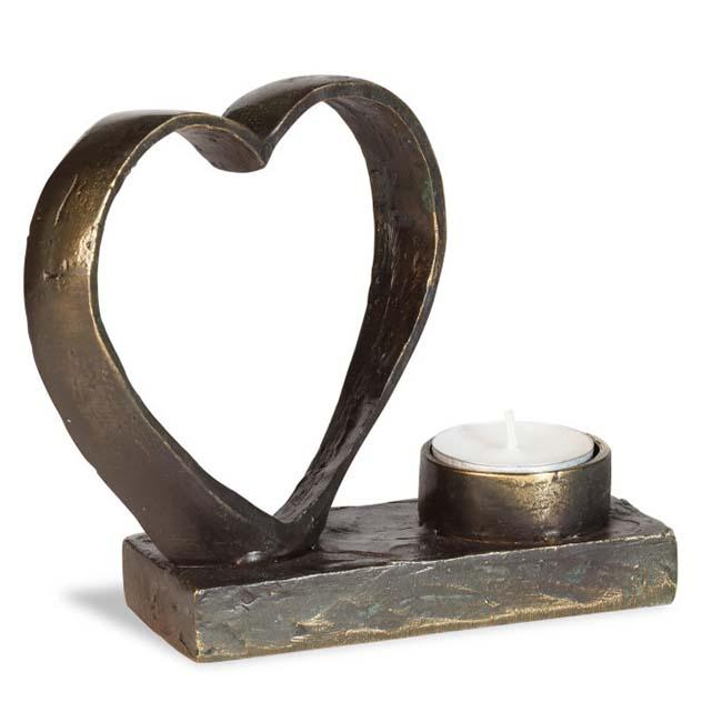 Asche Figur In Ewige Liebe Verbunden (0,05 Liter) Bronze Urnen