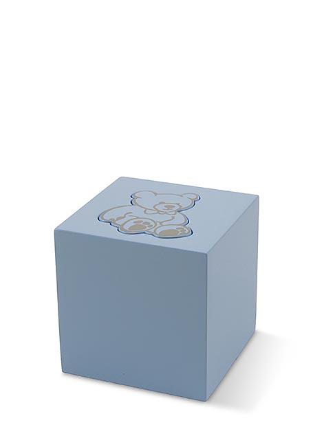 Hölzerne Teddybeer Baby oder Kinder Urne Boy (0,3 Liter) Holz Mini Urnen
