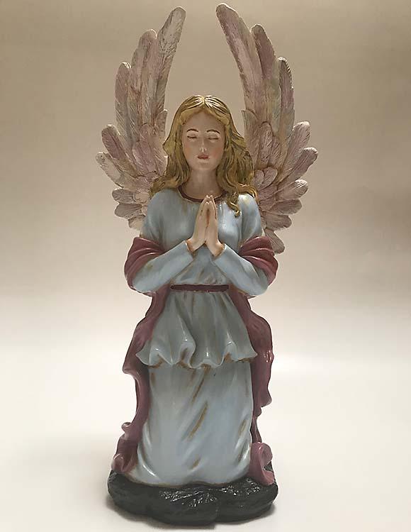 Blessing Engel Urne Blondes Haar Handbemalt (2,5 bis 3,0 Liter) Engel Urnen