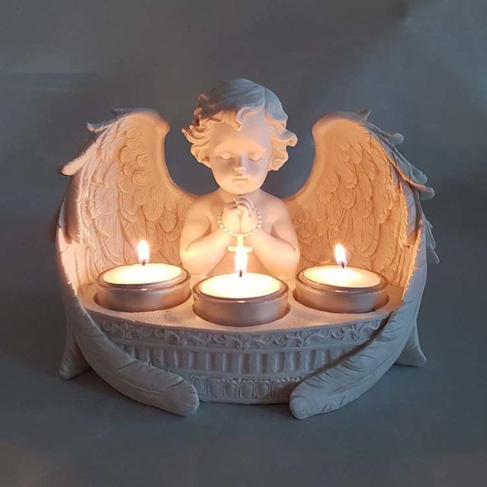 Kerzenhalter Tierurne Betender Engel (0,15 Liter) Tierurnen Engel