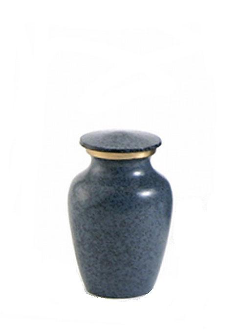 Maus Granit Mini Tierurne (0,08 Liter) Mikro-Tierurnen aus Messing
