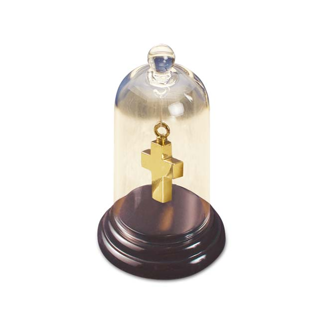 Mittelgroße Luxuriöse Ascheanhänger Glocken mit Marmorsockel Glockenförmiger Anhänger für Asche