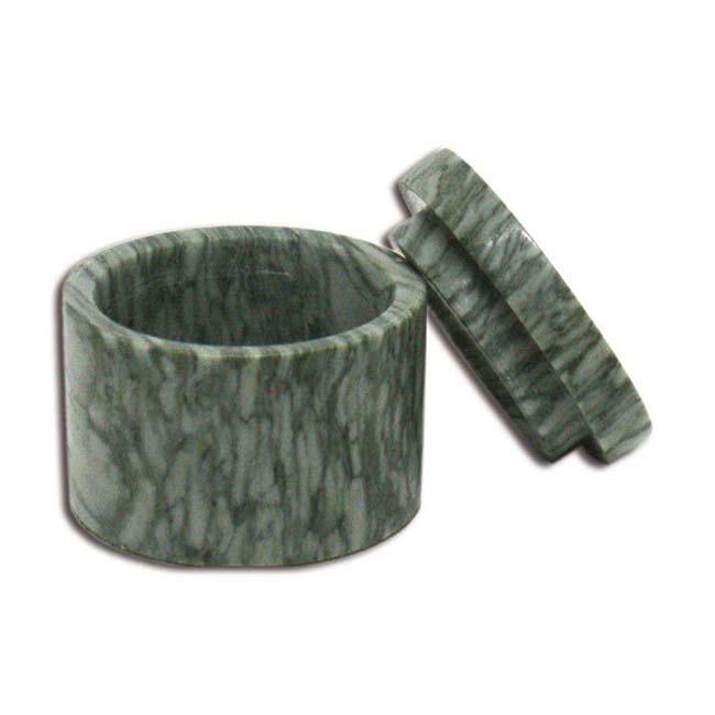 Marmor Mini Urne Grau Geädert (0,015 Liter) Natursteinurnen Mini Urnen