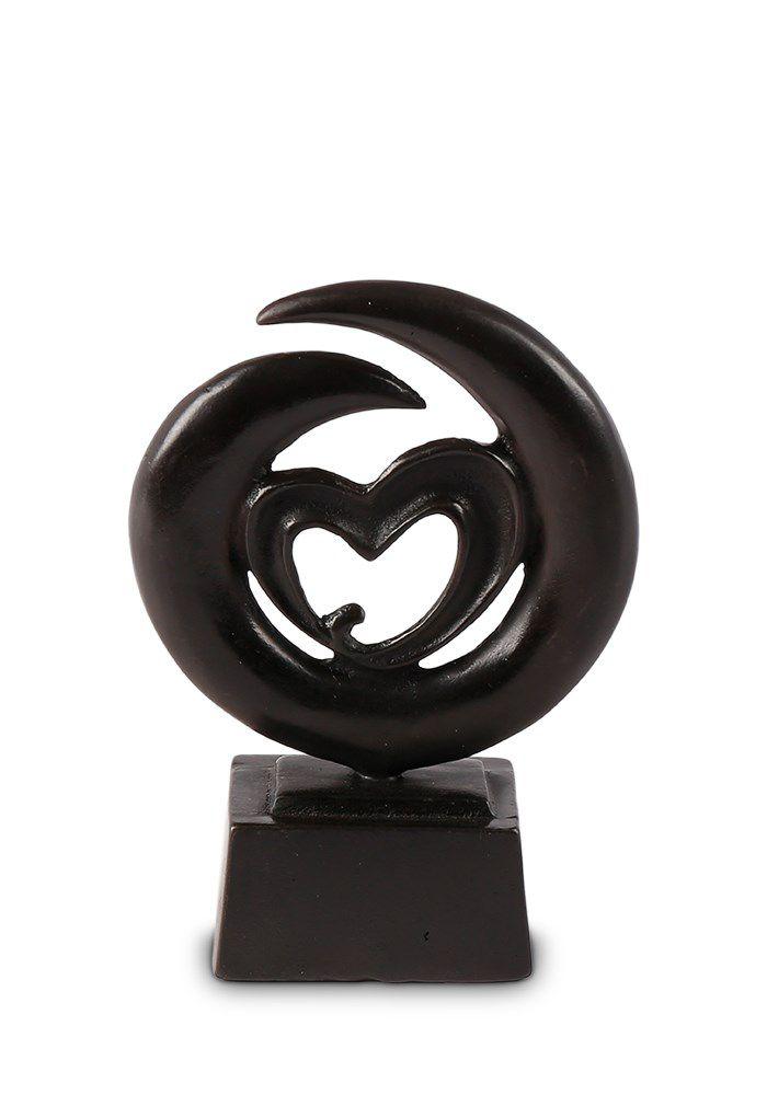 Bronze Mini Tierurne Endlose Liebe (0,065 Liter)